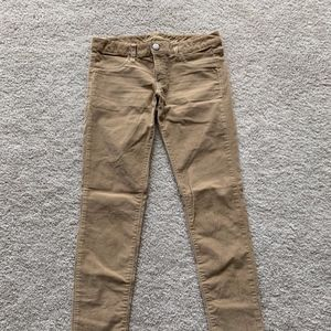 Light Brown Corduroy Pants